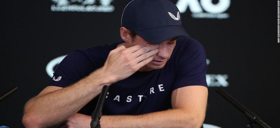Andy Murray broke down in tears and said that he might retire from competitive tennis as he suffers from hip injury problems. (Image credit: CNN Twitter)
