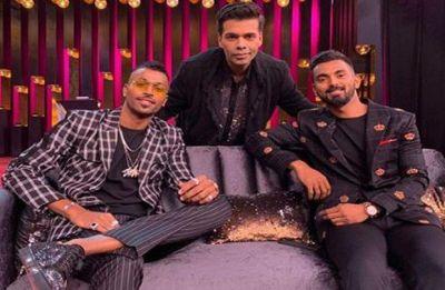 BCCI suspends Hardik Pandya and KL Rahul, asks duo to return home from Australia series