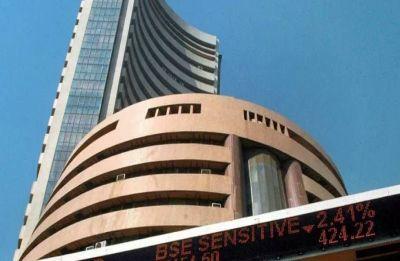 Sensex falls 96 points, Nifty ends below 10,800