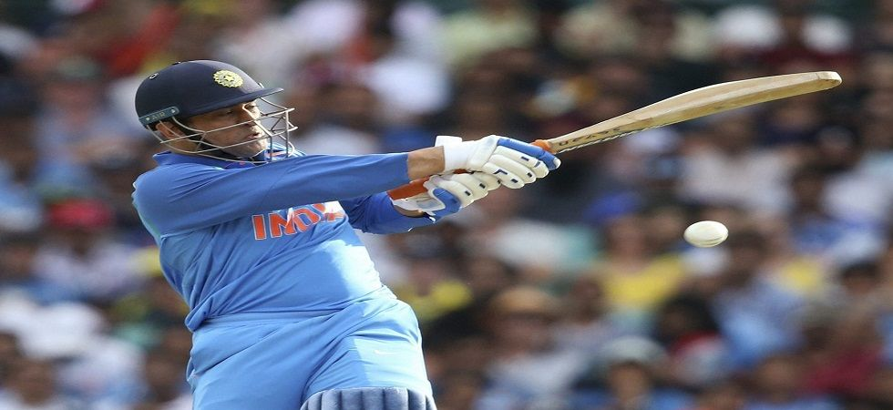 MS Dhoni's 68th fifty was criticised for being too slow by social media users and many pointed this as the key factor in the loss in Sydney. (Image credit: Twitter)