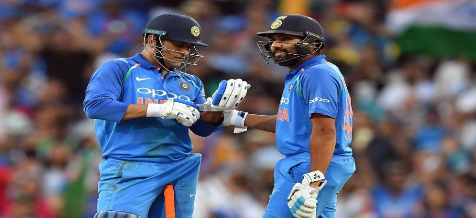 Rohit Sharma put on a dazzling show in the Sydney ODI where he scored his 22nd century. (Image credit: ICC Twitter)
