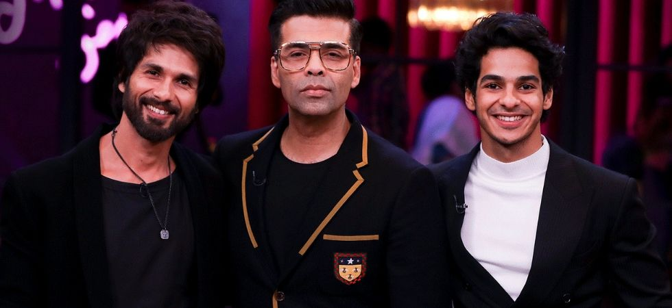 While Shahid has appeared on the show, Ishaan will be marking his debut on Koffee with Karan./ Image: Koffee with Karan