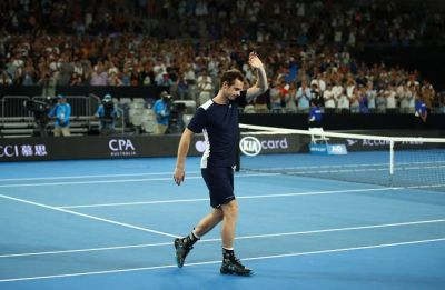 Andy Murray on hip injury: So sore I can't walk my dogs, play football and put on my socks