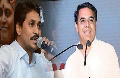 KCR's son KT Rama Rao meets YSR Congress chief Jagan Mohan Reddy over non-BJP, non-Congress front