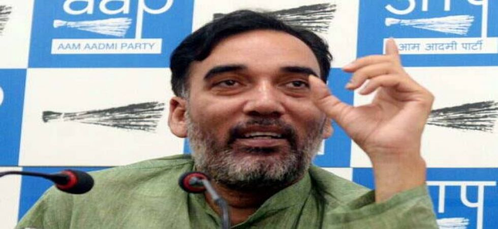 It was being widely speculated that the AAP would contest the elections with the Congress. Gopal Rai's statement has put all such speculations to rest. (File photo)