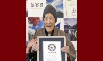 Masazo Nonaka, world's oldest living man, dies at 113 in Japan