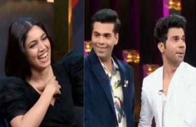 Koffee With Karan 6: Rajkumar Rao flirts with Karan Johar, ready to be filmmaker's gay partner in a movie