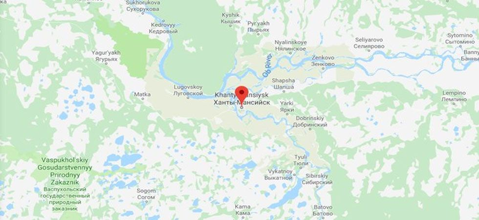 Russian plane SU1515 landed in the city of Khanty-Mansiysk about 230 kilometers to the west.