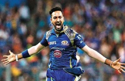 Krunal Pandya hands blank cheque to Jacob Martin's family for his treatment