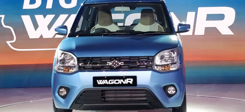The new WagonR with one litre engine will deliver a fuel efficiency of 22.5 km per litre. (Photo tweeted by @MSArenaOfficial)