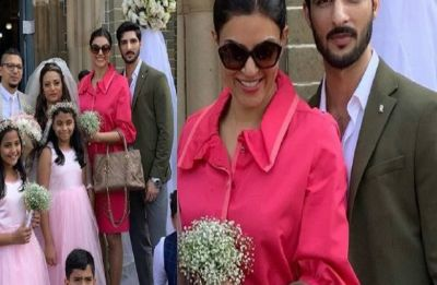 Sushmita Sen-Rohman Shawl's relationship more serious than ever, spotted dining out with dad, Shubeer Sen