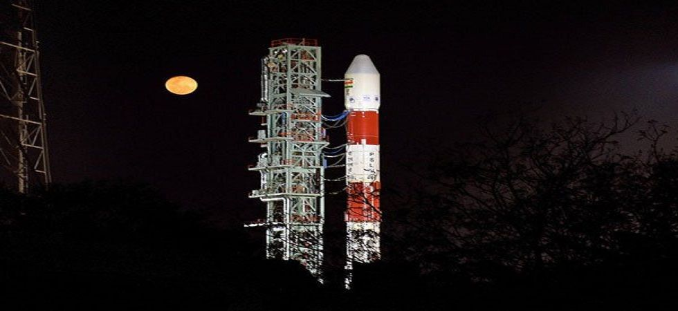 The satellite launch will take place 90 km off Chennai—from the first launchpad at the Satish Dhawan Space Center at Sriharikota. (Photo: ISRO/Twitter)