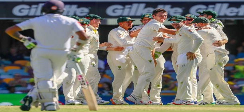 Pat Cummins picked up 6/23, which is his best haul in Tests during the game in Brisbane. (Image credit: Twitter)