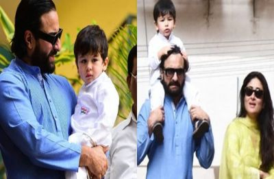 Taimur Ali Khan gives us perfect patriotic vibes as he attends flag hoisting with Saif and Kareena