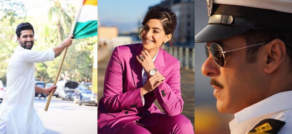 Salman Khan, Sonam Kapoor, Vicky Kaushal and others wish their fans on Republic Day./ Image: Twitter