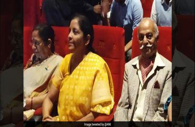 How's the Josh? Nirmala Sitharaman after watching Uri with war veterans