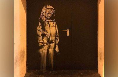 Banksy mural on Paris' Bataclan fire door stolen