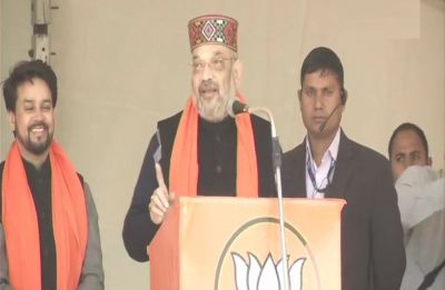 For Congress, OROP is 'One Rahul One Priyanka', says BJP chief Amit Shah in Himachal Pradesh's Una