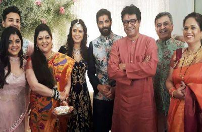 MNS chief Raj Thackeray's son Amit Thackeray ties knot with Mitali Borude