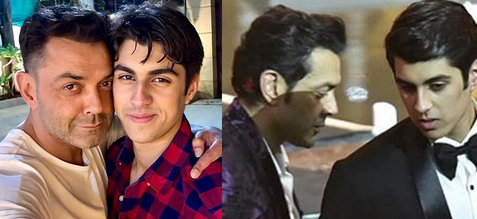 Bobby Deol's son, Aryaman is making each one of us fall in love with his charming personality.