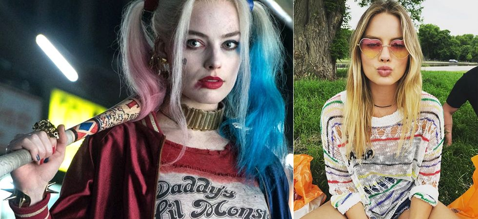 Margot Robbie has shared her first look as Harley Quinn in the upcoming Birds of Prey. / Image: Instagram