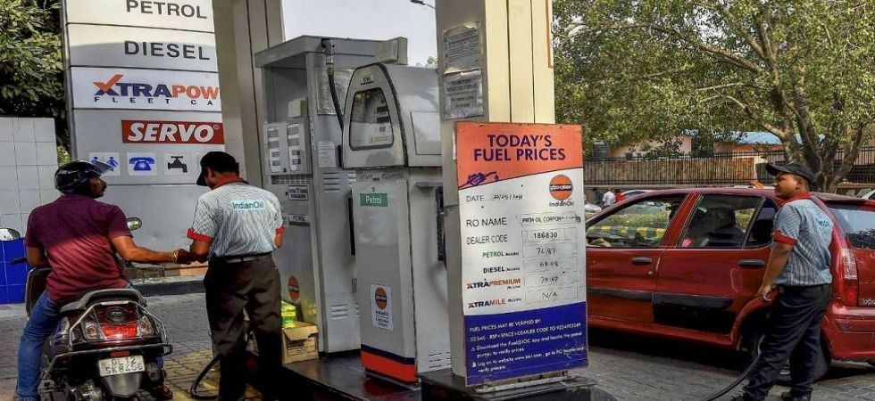 In Noida, prices of petrol and diesel were Rs 70.90 and Rs 65.05 a litre, respectively.