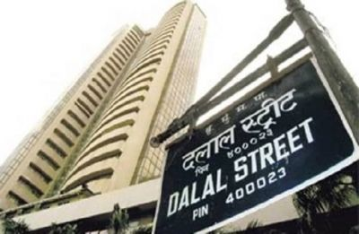 Sensex up over 100 pts even as govt raises fiscal deficit target to 3.4%