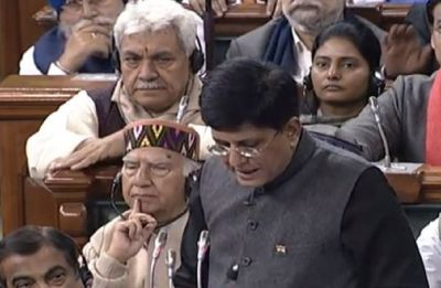 Interim Budget 2019 | Fiscal deficit will be at 3.4% of GDP this year: Piyush Goyal