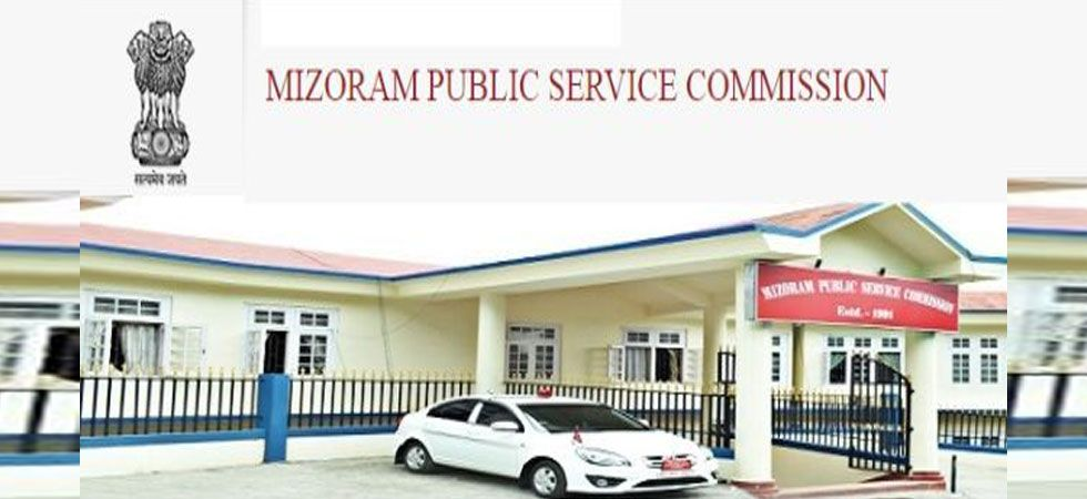 Mizoram Public Service Commission vacancies, Aizawl.