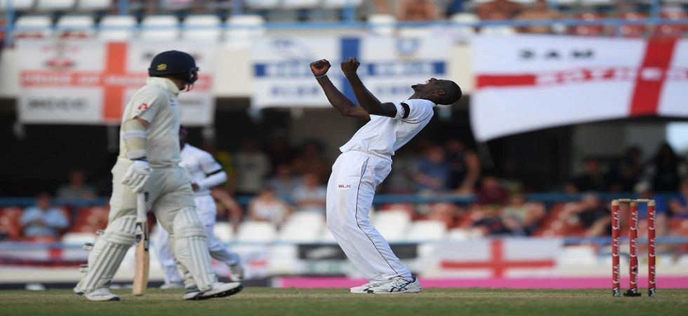 Jason Holder's West Indies won a series against England for the first time in 10 years as they won the Antigua Test. (Image credit: ICC Twitter)