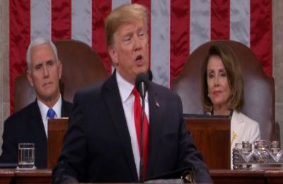 State of the Union 2019: 'Proper wall never got built. I will get it built,' says US President Trump