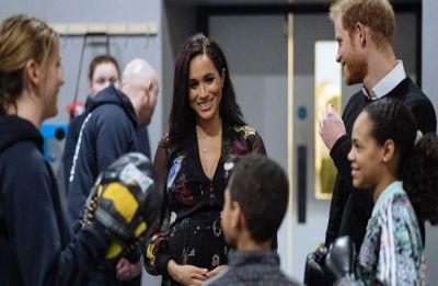 WATCH | This video of pregnant Meghan Markle reacting to the baby's kick is priceless