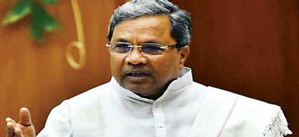 Karnataka Chief Minister Siddaramaiah. (File)