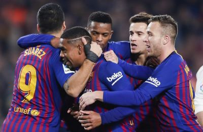 Real Madrid hold Barcelona in Copa del Rey semi-final