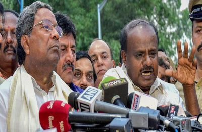 Karnataka row: Congress, JD(S) MPs call joint press meet in a show of strength