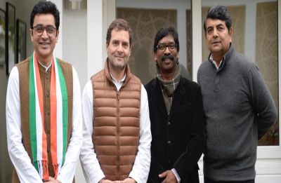 Congress forges 'Mahagathbandhan' with JMM, JVM and RJD in Jharkhand