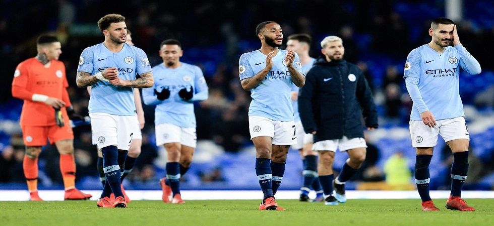Manchester City knocked Liverpool off the top spot in the Premier League due to a superior goal difference. (Image credit: Raheem Sterling Twitter)