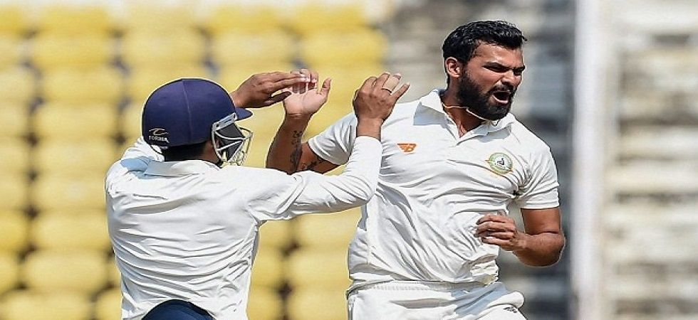 Aditya Sarwate took 11 wickets and got Cheteshwar Pujara out cheaply as Vidarbha defeated Saurashtra to win the Ranji Trophy for the second consecutive time. (Image credit: Twitter)