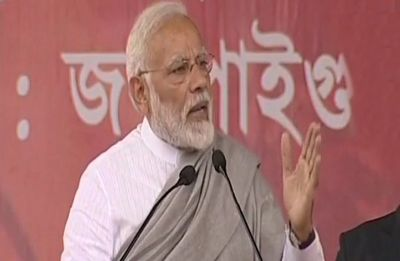 PM Modi slams Mamata Banerjee in Jalpaiguri over her dharna, says people not scared of violence created by 'Didi'