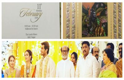 Soundarya Rajinikanth and Vishagan Vanangamudi's wedding invitation card is here, check it out