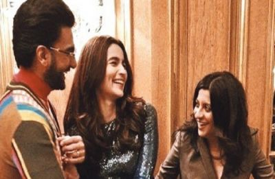 Ranveer, Zoya visit India Pavilion at Berlin Film Festival 2019