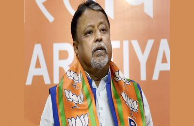 BJP leader Mukul Roy booked for TMC MLA Satyajit Biswas' killing in Bengal
