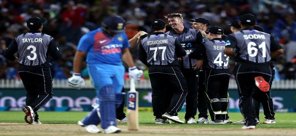 Rohit Sharma has praised the efforts of the Indian cricket team despite losing the Hamilton T20I by four runs. (Image credit: ICC Twitter)