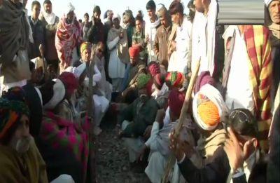 Gujjar quota agitation enters fourth day, protesters block roads, railway tracks