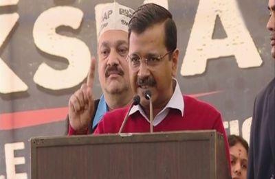Modi acts like PM of Pakistan: Arvind Kejriwal at Chandrababu Naidu's fast in New Delhi