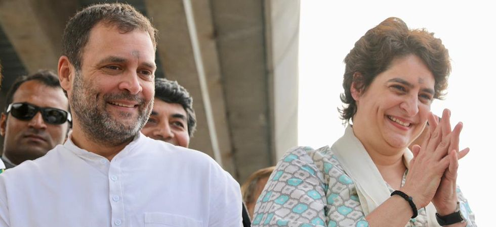 Priyanka Gandhi Vadra reaches Lucknow along with Congress president Rahul Gandhi (File Photo)