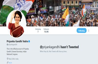 Priyanka Gandhi Vadra makes Twitter debut ahead of mega Lucknow roadshow in UP