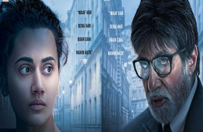 Badla first look: Amitabh Bachchan and Taapsee Pannu's intense look will leave you intrigued