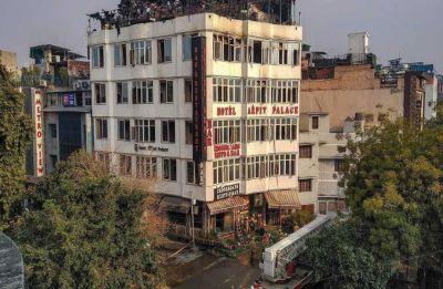 Karol Bagh Fire: Police arrest two officials including general manager of Hotel Arpit Palace