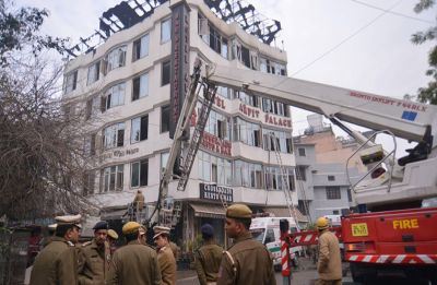 AAP attacks BJP-ruled municipal corporation over Karol Bagh hotel fire incident
